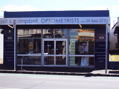 Glasses Repair Auckland Cbd : Store Locations - Campbell & Campbell Optometrists